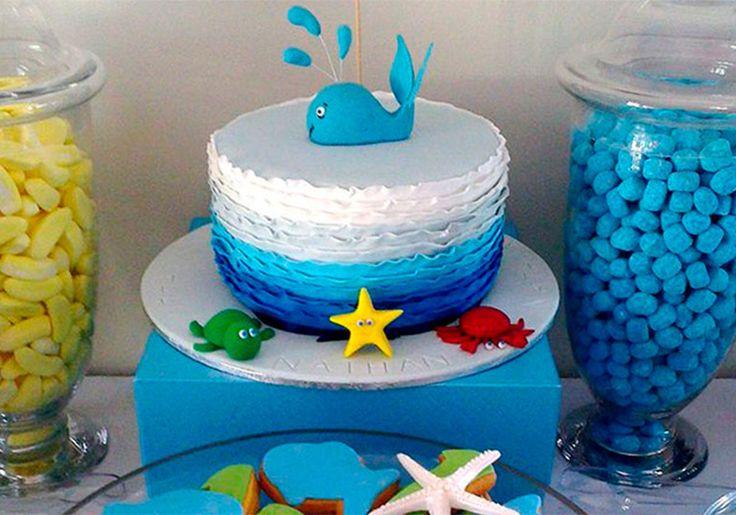 Tema unissex: Inspire-se no fundo do mar para decorar a próxima festinha das crianças