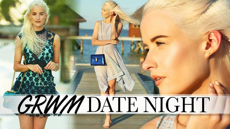 GRWM MALDIVES DATE NIGHT | TWO OUTFIT CHOICES, MAKEUP AND HAIR ad