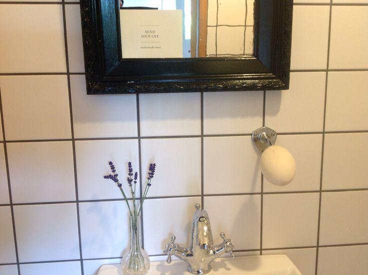 Er så glad for det nye badeværelse!
