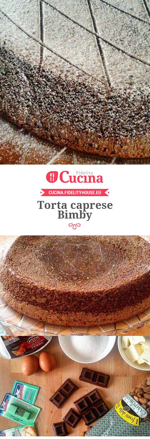 Torta caprese Bimby della nostra utente Tiziana. Unisciti alla nostra Community ed invia le tue ricette!