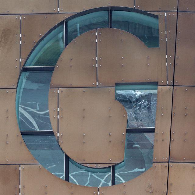 Letter G Letter G Round Mirror Bathroom Alphabet Photography