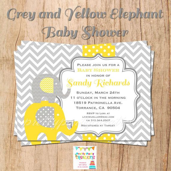 22 best Tracies Baby Shower images on Pinterest Elephant baby