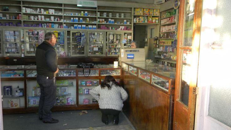 Neighbourhood pharmacy, Valparaiso Chile