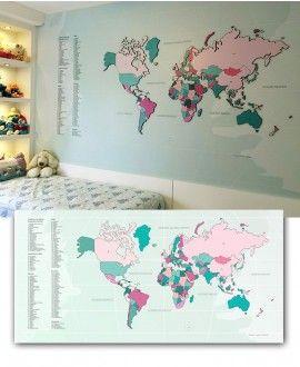 Mapa Interativo MDF - Tiffany