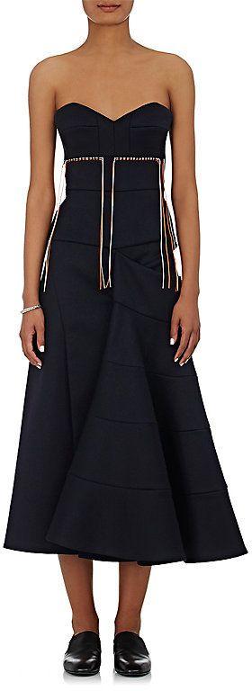 Victoria Beckham Women's Strapless Bustier Dress
