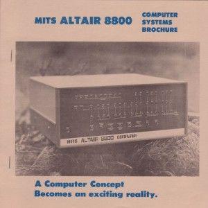 Altair 8800 e gli hacker