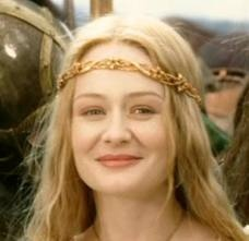Eowyn, my favourite character from the Lord of the Rings trilogy.