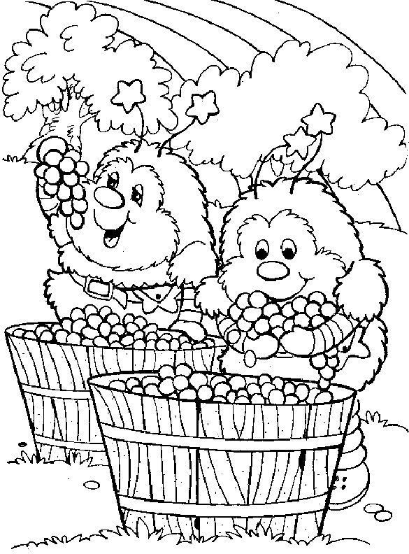 images of rainbow bright coloring pages | Rainbow Brite ...