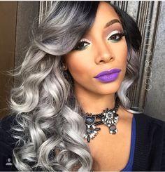 54 best GreySilver Hair images on Pinterest