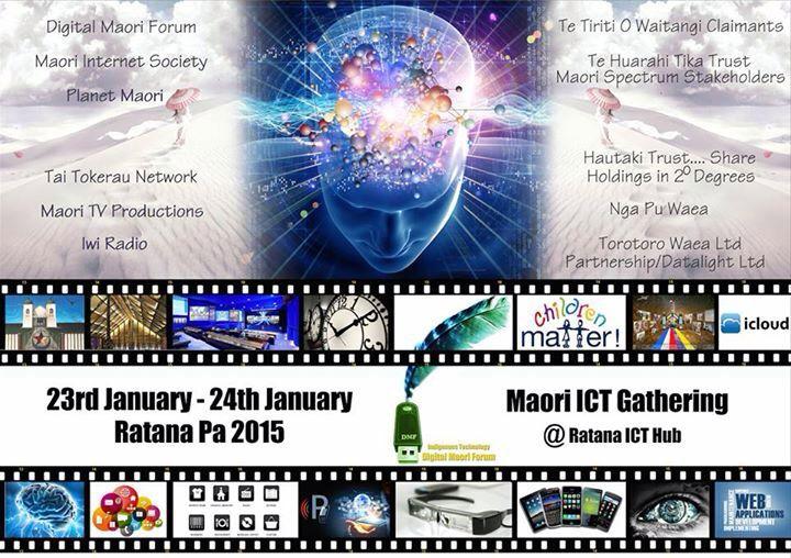 Maori ICT Meetup at Ratana Pa, 23 Jan. Nau mai haere mai.