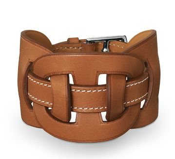 #Hermes Leather Cuff - That One Piece We All Should Own For Those Perfect Everyday Casual Chic