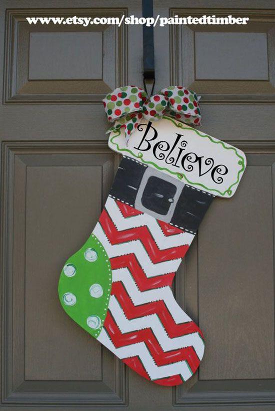 Best christmas door decorations ideas on pinterest