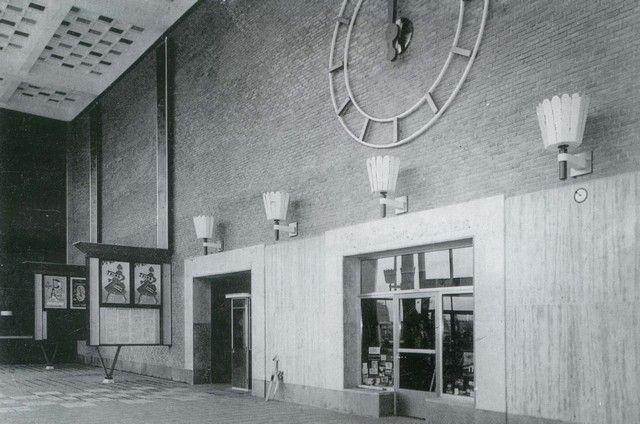 station Rotterdam Hofplein stationsgebouw II (1956) interieur