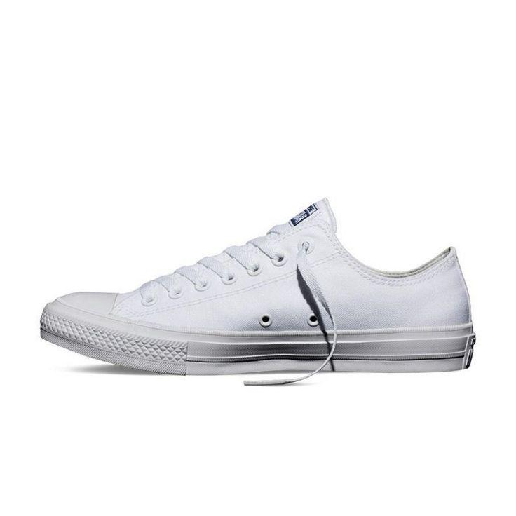 Pantofi sport CONVERSE CHUCK II 150154C, pentru femei, Alb, 40