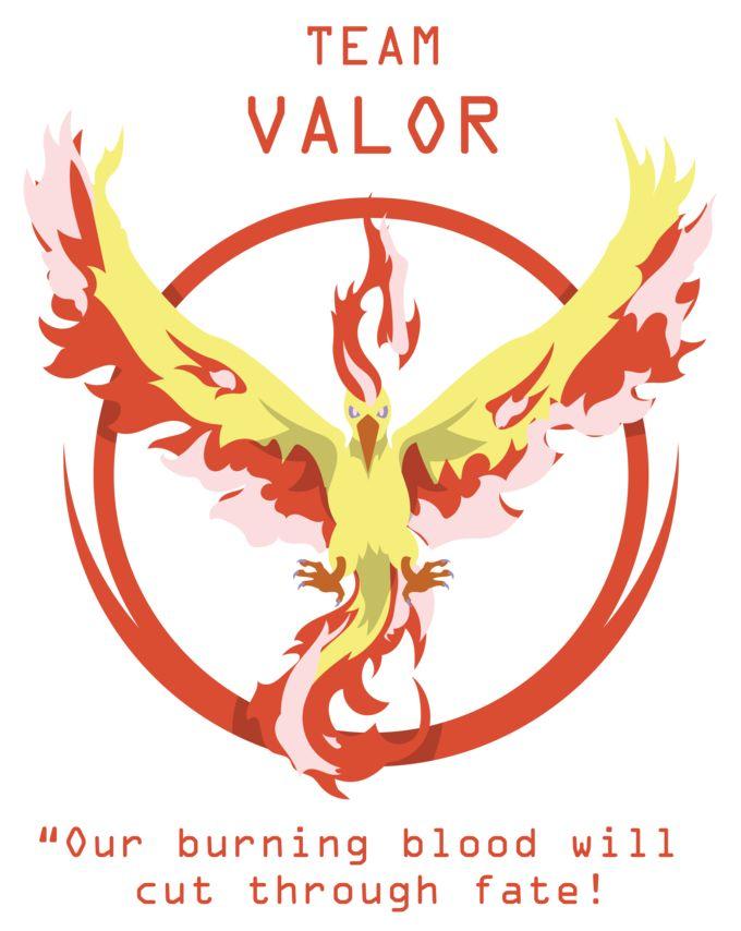 Team Valor - Moltres.