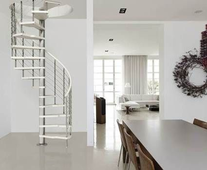 diferentes tipos de escaleras
