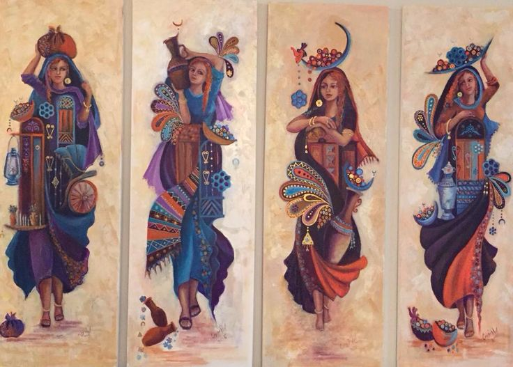 Iraqi Art ليلى نورس