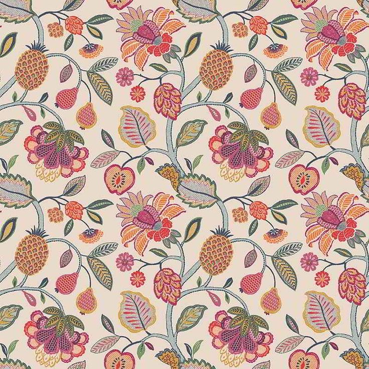 Warwick Fabrics : TIMELESS GRACE, Colour PARCHMENT