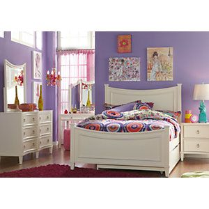 Jaclyn Place Ivory 5 Pc Full Panel Bedroom .899.99. Find affordable Bedroom Sets for your home that will complement the rest of your furniture. #iSofa #roomstogo