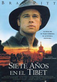 Cartel de la película Siete años en el Tibet