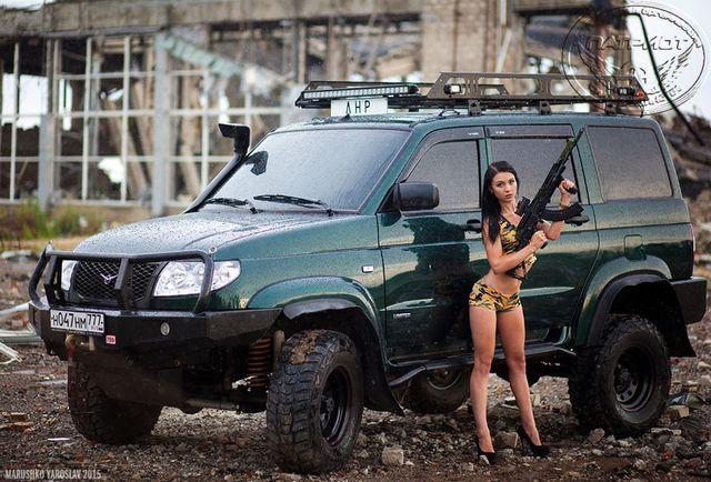 российские авто с девушками - Поиск в Google
