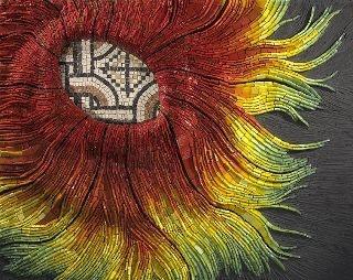 Brian Felix: Beautiful Stained, Fine Art, Lost Orphan, Brian Felix, Inspiring Mosaics, Mosaics Ii, Flower Mosaics