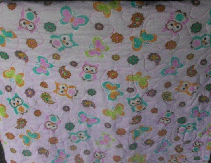 Back of Phoenix cot quilt