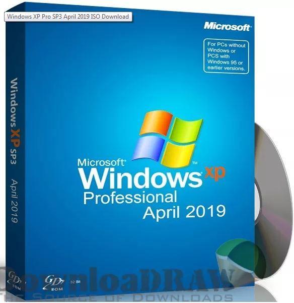Windows Xp Pro Sp3 April 2019 Iso Download Windows Xp Microsoft Office Free Windows