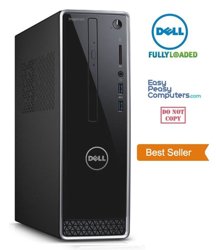 Computers for Sale - NEW DELL Desktop Computer PC Windows 10 DVDRW 500GB 4GB HDMI WiFi (FULLY LOADED) #Dell