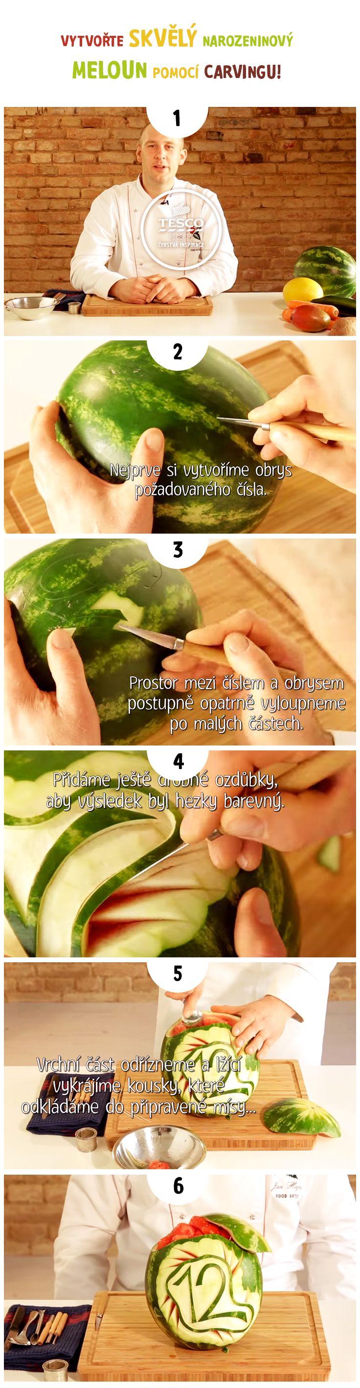 Tušili jste, jak skvělý dárek se dá připravit z melounu? S naším videem to zvládnete!