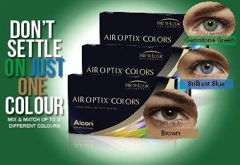 air optix colors rainbow pack