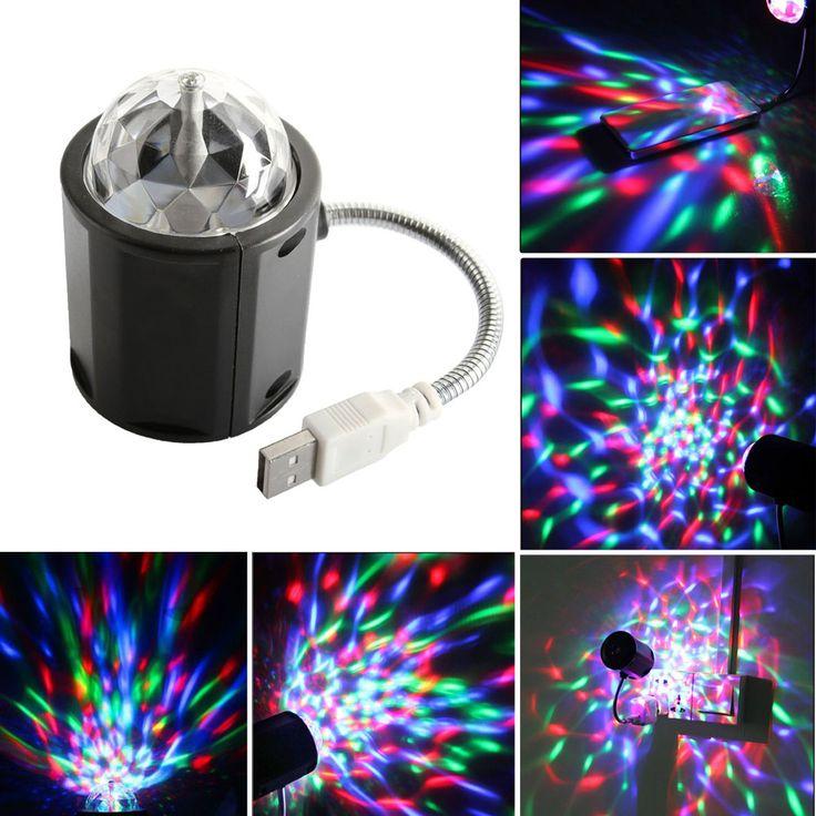 $7.12 (Buy here: https://alitems.com/g/1e8d114494ebda23ff8b16525dc3e8/?i=5&ulp=https%3A%2F%2Fwww.aliexpress.com%2Fitem%2FUSB-Mini-RGB-LED-Stage-Lighting-colorful-Auto-Rotating-Party-DJ-Disco-Crystal-Ball-Stage-Effect%2F32780436089.html ) USB Mini RGB LED Stage Lighting colorful Auto Rotating Party DJ Disco Crystal Ball Stage Effect Light USB LED light for just $7.12
