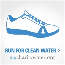 On mycharitywater.org you can run, dance, give up birthday presents or just raise money to fund clean water projects for communities in need.