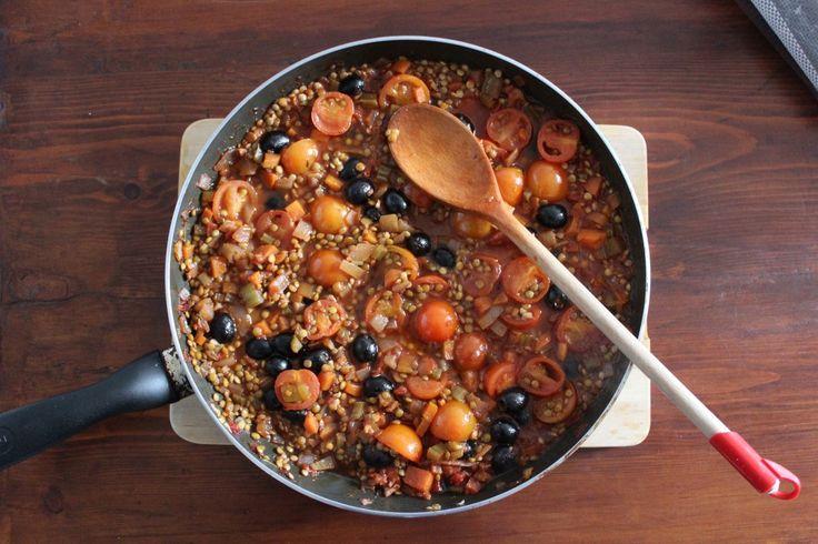 Julie's Sicilian & Lentil Ragu