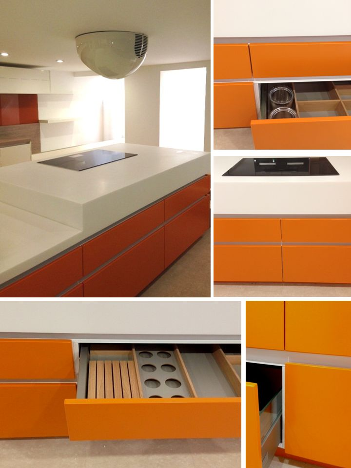 the new range from funktional kitchens called inline is full of straight lines clean edges