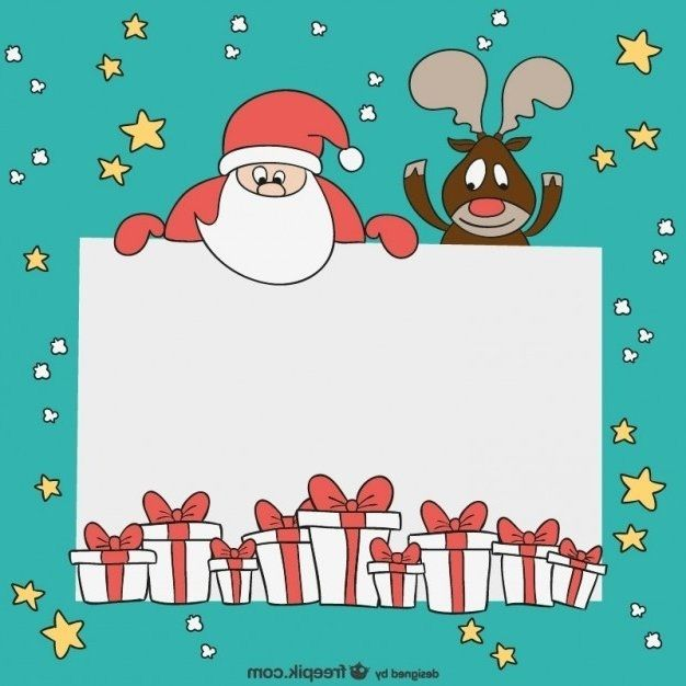 Christmas Card Templates Free Chrismas 2017