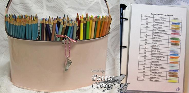 Colored Pencil Storage