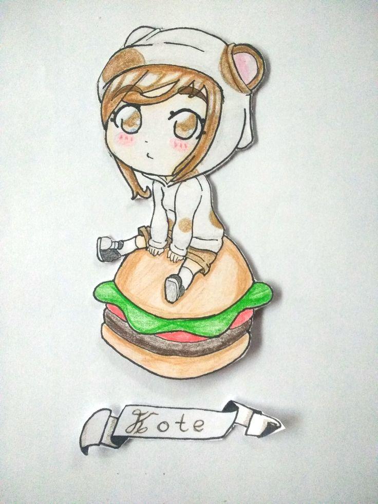 Está es la Kote, una cui a la que le encanta comer
