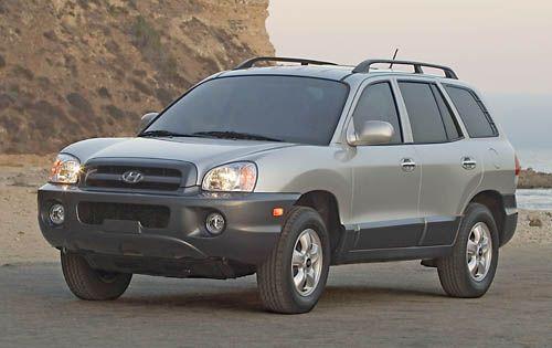 2004 Hyundai Santa Fe Limited