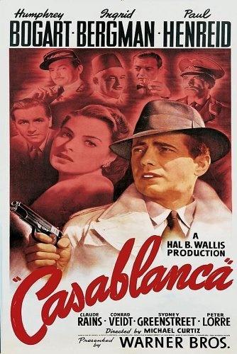 CASABLANCA movie poster - (1943)