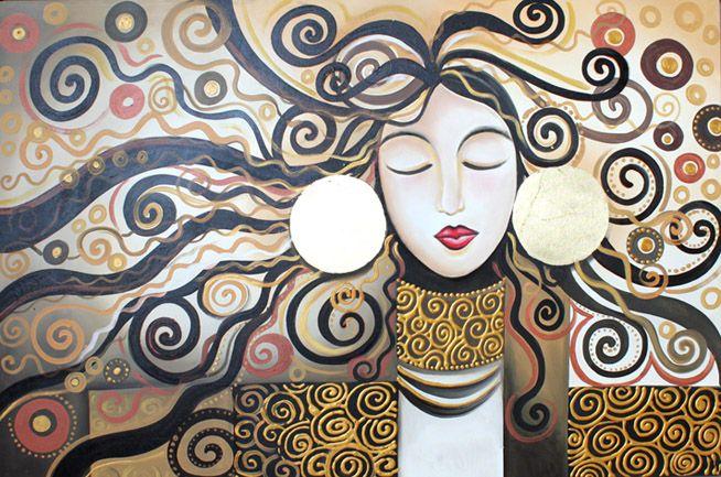 103 best faberarte images on pinterest tela kandinsky for Quadri particolari moderni