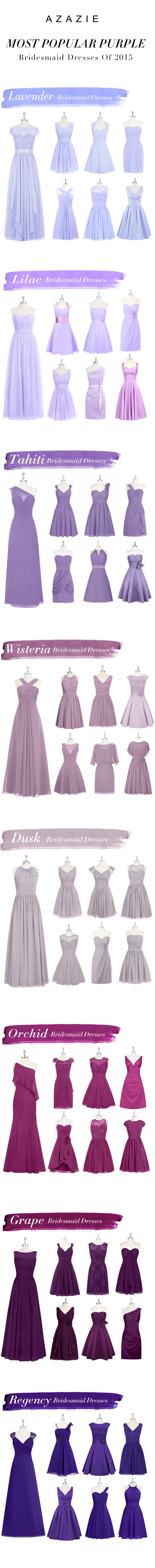 Most Popular Purple Bridesmaid Dresses By Azazie. Shop our picks!