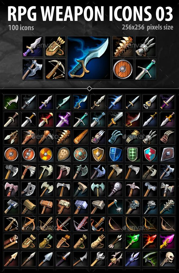 RPG Weapon Icons 03