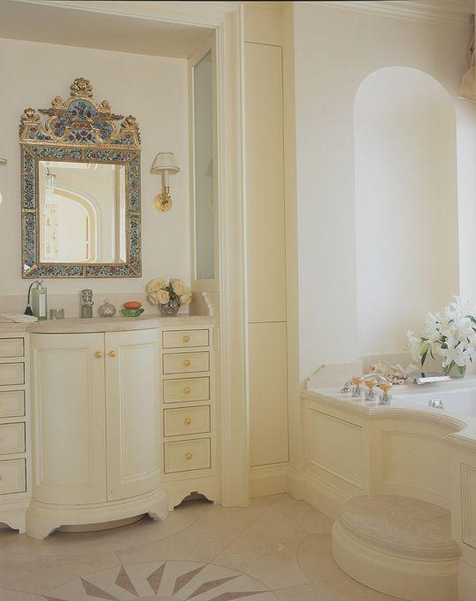 Contemporary Art Websites Andrew Skurman Architects beautiful ivory bath like the custom step on the tub surround