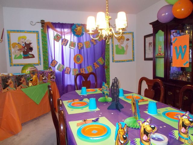 Birthday Scooby Doo Mystery Birthday Party Ideas | Photo 1 of 39 | Catch My Party