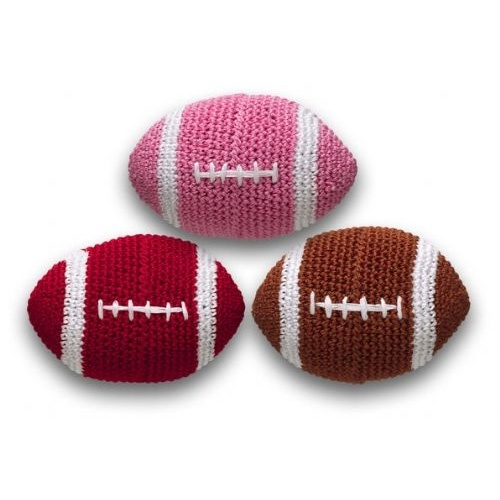 Crochet Football Toy                                                                                                                                                                                 More