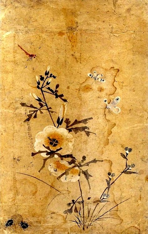 (Korea) Painting album by Lady Shin Saimdang (1504-1551). 41.0× 25.7cm. Gansong gallery, Korea.