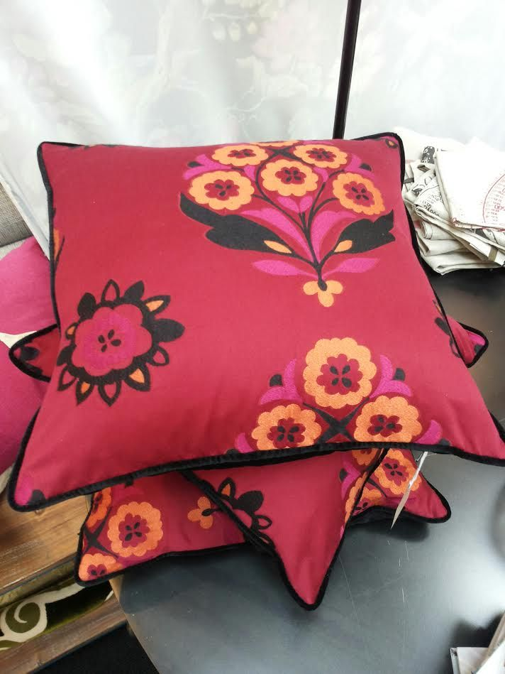 Ethnic floral cushions - $120 each