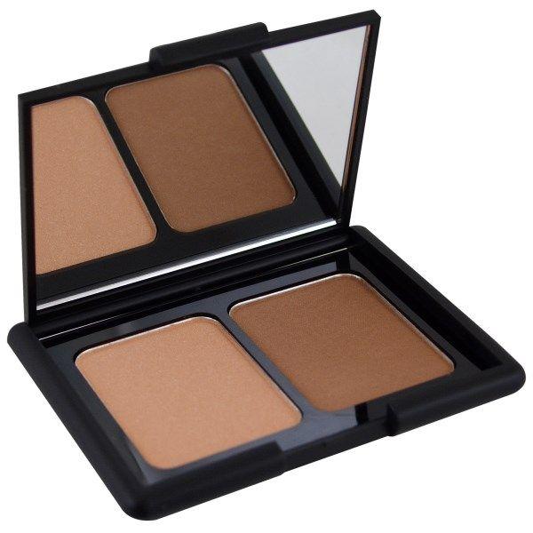 E.L.F. Cosmetics, コントーリングブラシ、ブロンズパウダー、セントルシア、0.30 oz (8.4 g)