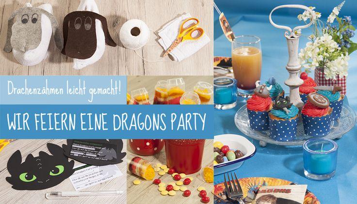 Ideen und Tipps rund um Deine Drachenzähmen leicht gemacht PartyWars Geburtstag | Tambini